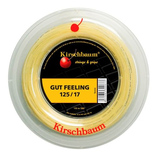 Kirschbaum Gut Feeling String Reel 110m - Ecru