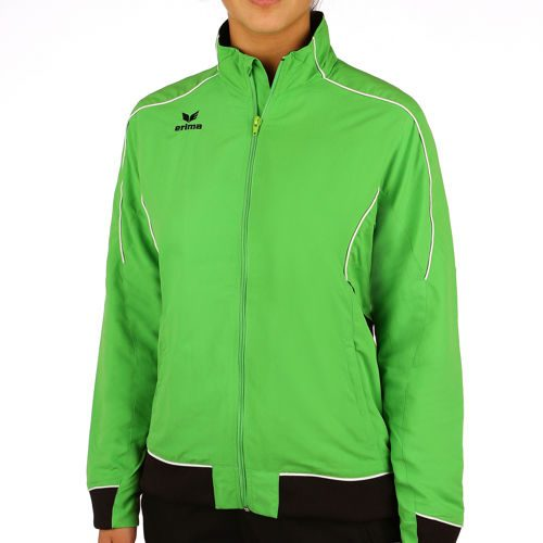 Erima Gold Medal Training Jacket Women - Green, Black
