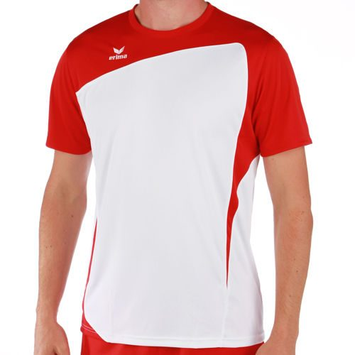 Erima Club 1900 T-Shirt Men - White, Red