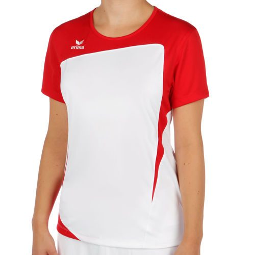 Erima Club 1900 T-Shirt Women - White, Red