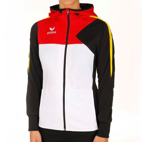 Erima Premium One Fed Cup Training Jacket Women - White, Black