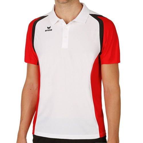 Erima Razor 2.0 Polo Men - White, Red