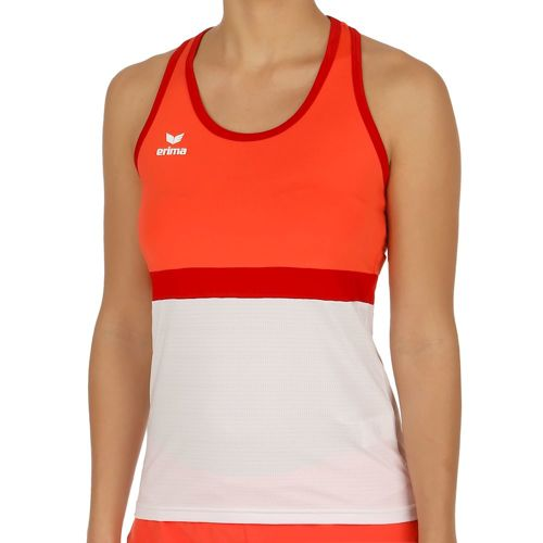 Erima Teamline Masters Tank Top Women - Orange, White