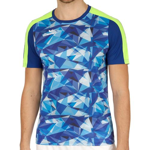 Erima Teamline Masters T-Shirt Men - Blue, Light Blue