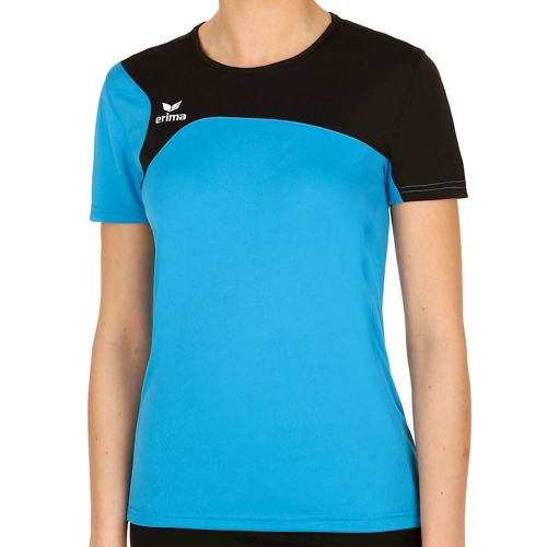 Erima Club 1900 T-Shirt Women - Light Blue, Black