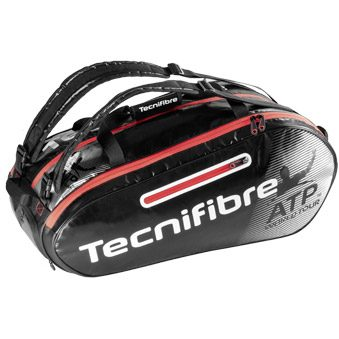Tecnifibre Pro Endurance ATP Racket Bag 10 Pack - Black