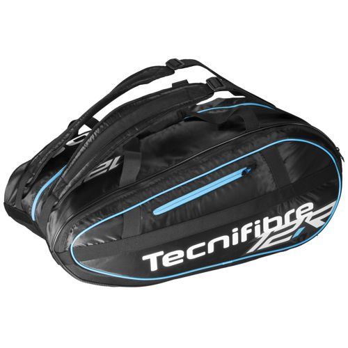 Tecnifibre Team Lite 12R Racket Bag - Black, Blue