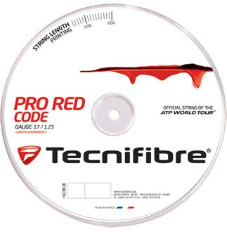 Tecnifibre Pro RedCode String Reel 200m - Red