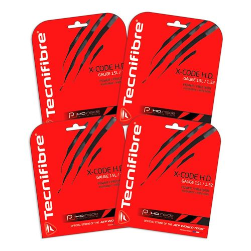 Tecnifibre Package 4x X-Code String Set 12,2m - Black