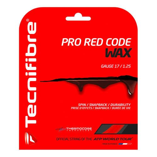 Tecnifibre Pro RedCode Wax String Set 12,2m - Red
