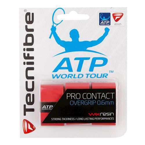 Tecnifibre Pro Contact ATP 3 Pack - Red