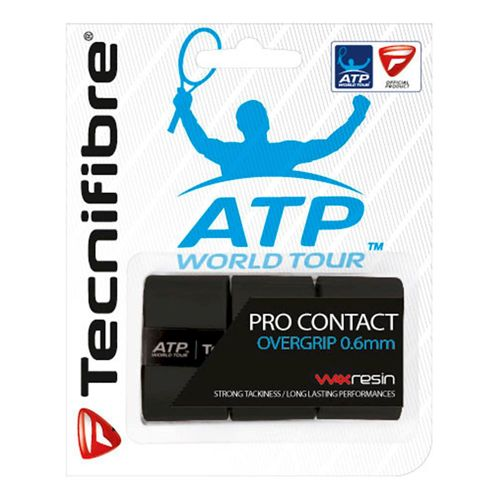 Tecnifibre Pro Contact ATP 3 Pack - Black