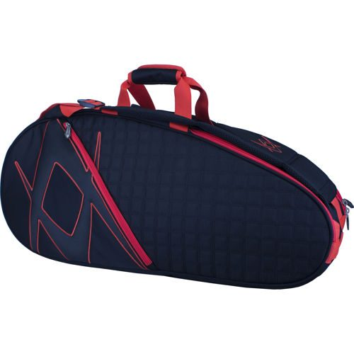 Völkl Tour Combi Bag 6er Racket Bag 9 Pack - Black, Red