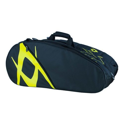Völkl Tour Mega Bag Racket Bag 12 Pack - Black, Yellow