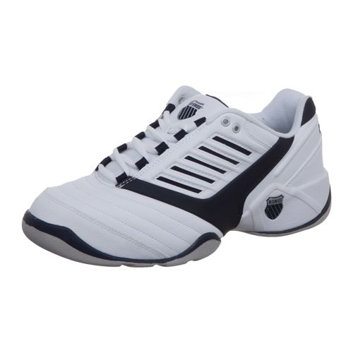 K-Swiss Surpass Indoor Carpet Shoe Men - White, Dark Blue