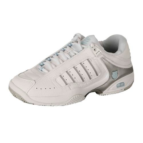 K-Swiss Defier RS All Court Shoe Women - White, Blue