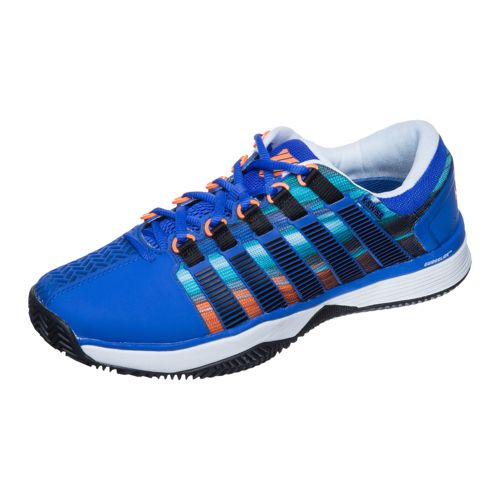 K-Swiss Hypercourt HB Clay Clay Court Shoe Men - Blue, Orange