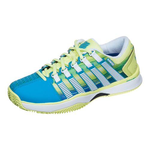 K-Swiss Hypercourt HB Clay Clay Court Shoe Women - Yellow, Petrol