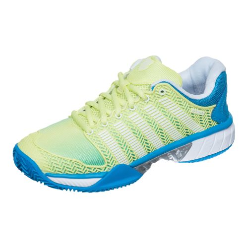 K-Swiss Hypercourt Express HB Clay Clay Court Shoe Women - Yellow, Petrol