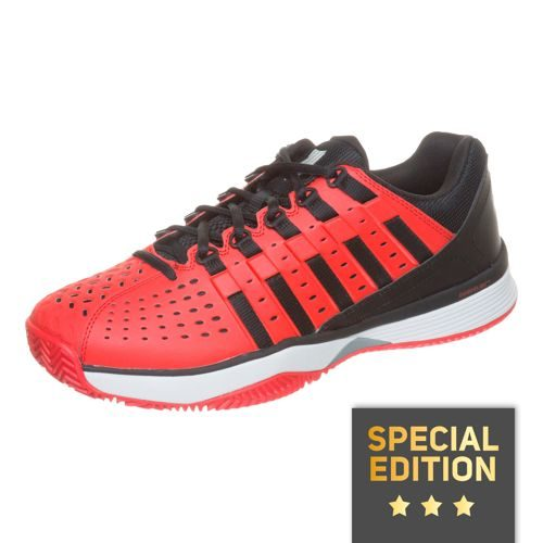 K-Swiss Hypermatch HB Clay Clay Court Shoe Exclusive Men - Red, Black