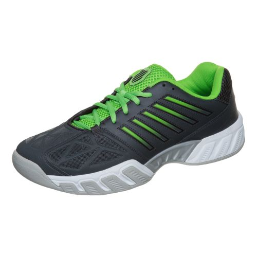 K-Swiss Big Shot Light 3 Carpet Shoe Men - Black, Neon Green