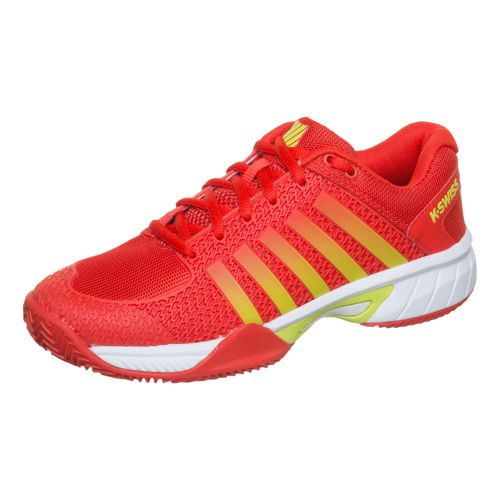 K-Swiss Light HB All Court Shoe Women - Red, Yellow