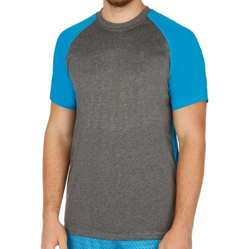 K-Swiss Swiss - Performance Hypercourt T-Shirt Men - Lightgrey, Blue