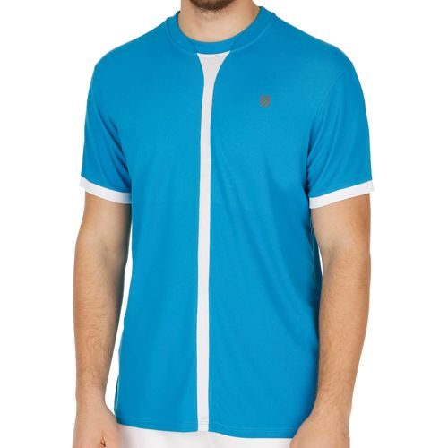 K-Swiss Swiss - Performance Hypercourt T-Shirt Men - Blue, White