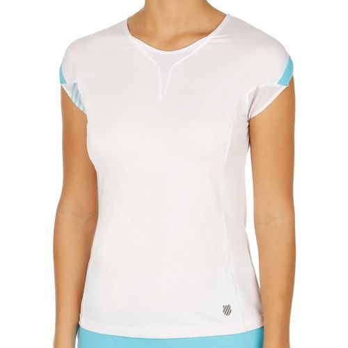 K-Swiss Swiss - Performance ´66 Capsleeve Women - White, Light Blue