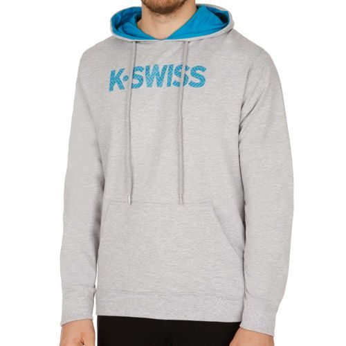 K-Swiss Swiss - Performance Spell Out II Hoody Men - Grey, Blue