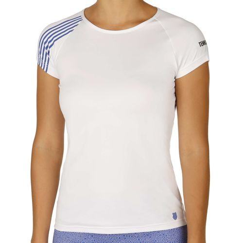 K-Swiss Swiss - Performance Robinson Collection Match T-Shirt Women - White, Blue