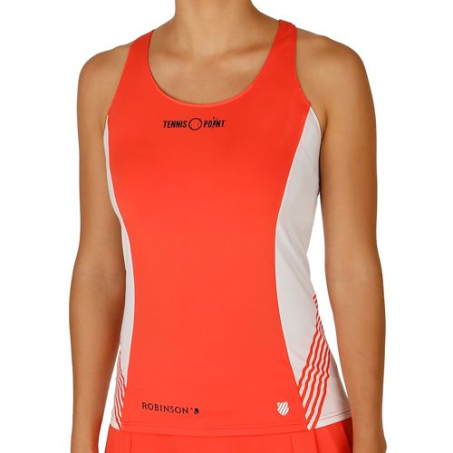 K-Swiss Swiss - Performance Robinson Collection Match Top Women - Orange, White