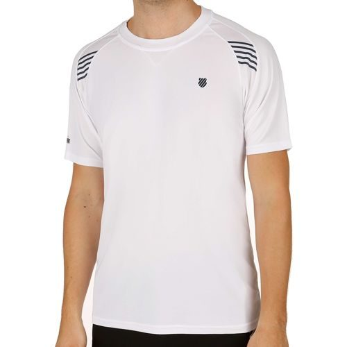 K-Swiss Swiss - Performance Robinson Collection BB T-Shirt Men - White