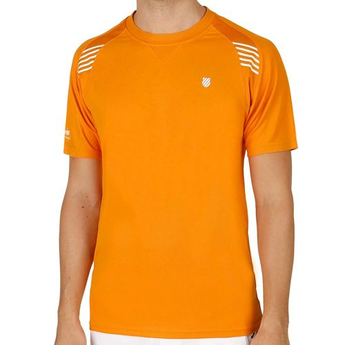 K-Swiss Swiss - Performance Robinson Collection BB T-Shirt Men - Orange