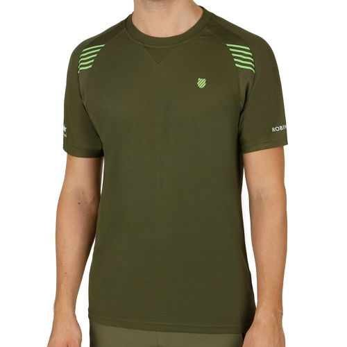 K-Swiss Swiss - Performance Robinson Collection BB T-Shirt Men - Dark Green