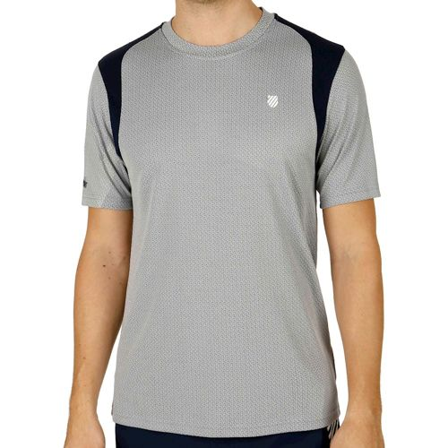 K-Swiss Swiss - Performance Robinson Collection B2 T-Shirt Men - Grey, Dark Blue