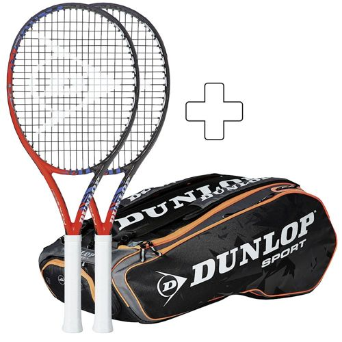 Dunlop 2 X Force 100 Plus Tennis Bag