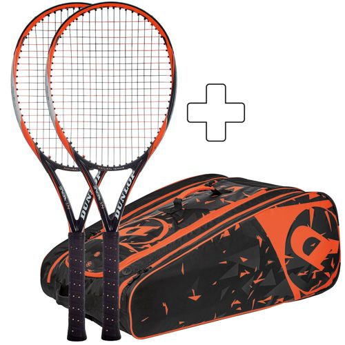 Dunlop 2 X NT R5.0 Revolution Pro Plus Tennis Bag