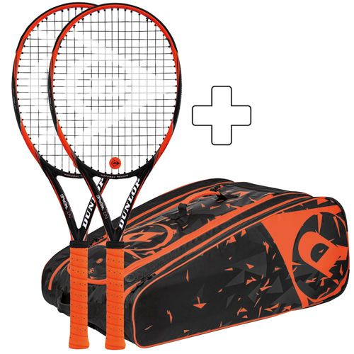 Dunlop 2 X NT R5.0 Revolution Spin Plus Tennis Bag
