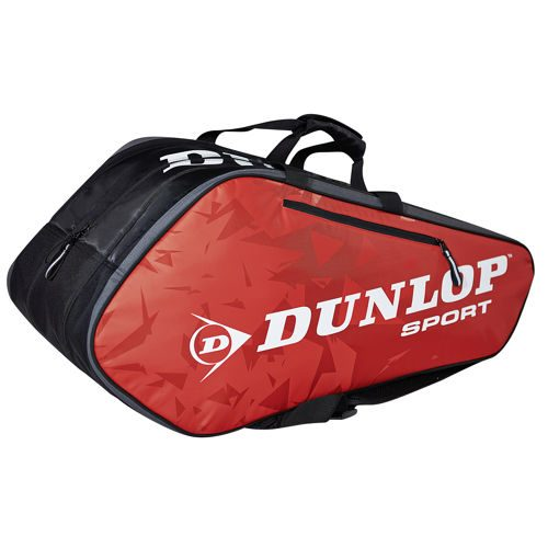 Dunlop Tour 10 Racket Bag - Red