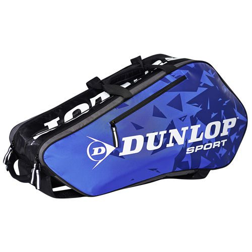 Dunlop Tour Racket Bag 6 Pack - Blue