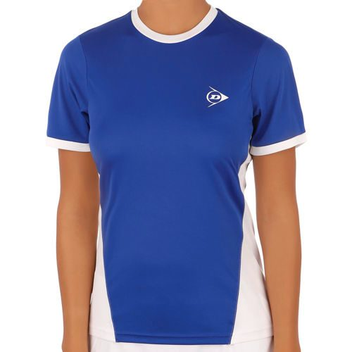 Dunlop Club Clubline Crew T-Shirt Women - Blue, White