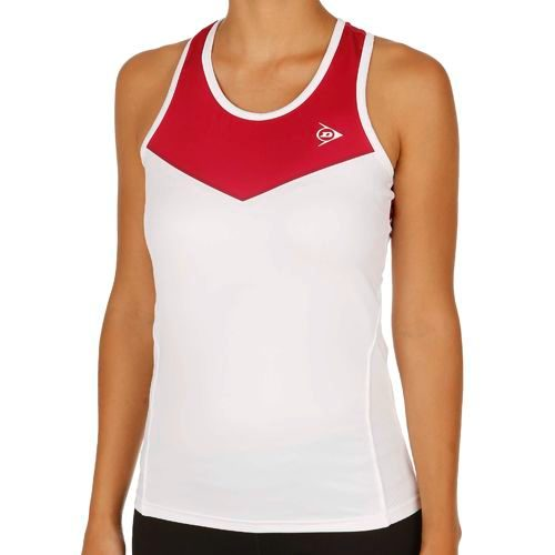 Dunlop Performance LDS Top Women - Dark Red, Red