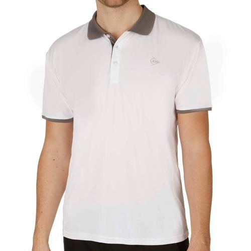 Dunlop Clubline Polo Men - White, Grey