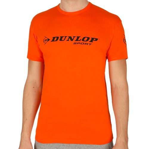 Dunlop Essentials Promo T-Shirt Men - Orange, Black