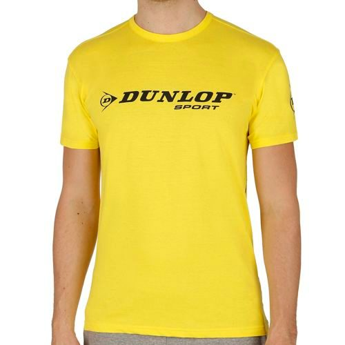 Dunlop Essentials Promo T-Shirt Men - Yellow, Black