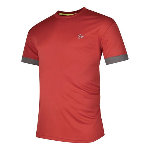 Dunlop Clubline Crew T-Shirt Boys - Red, Anthracite