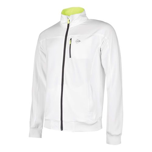 Dunlop Clubline Knitted Training Jacket Boys - White