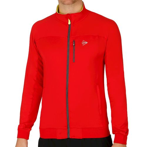 Dunlop Club Clubline Knitted Jacket Training Jacket Men - Red, Anthracite
