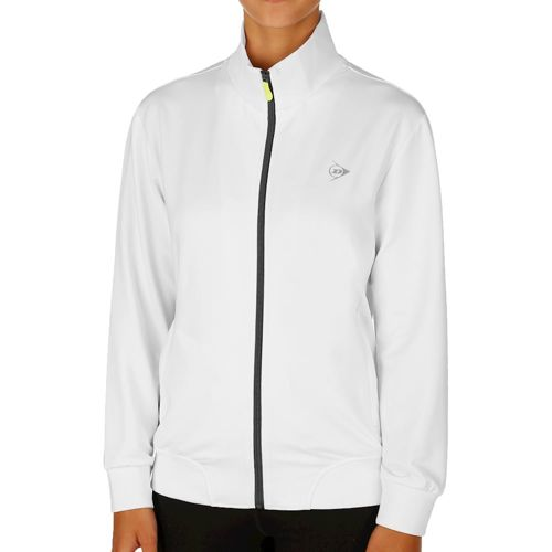 Dunlop Club Clubline Knitted Jacket Training Jacket Women - White, Anthracite